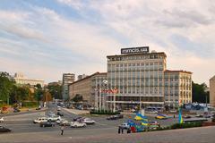 Стартовал онлайн-аукцион по приватизации столичной гостиницы 'Днепр'