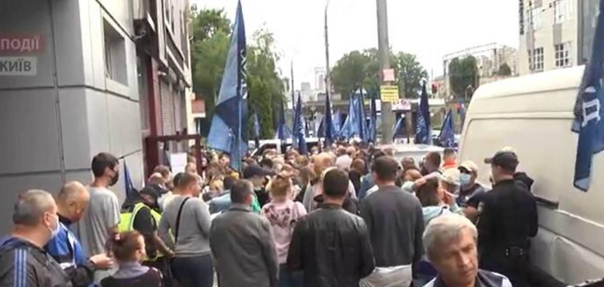 Вкладчики 'Укрбуда' провели новый митинг