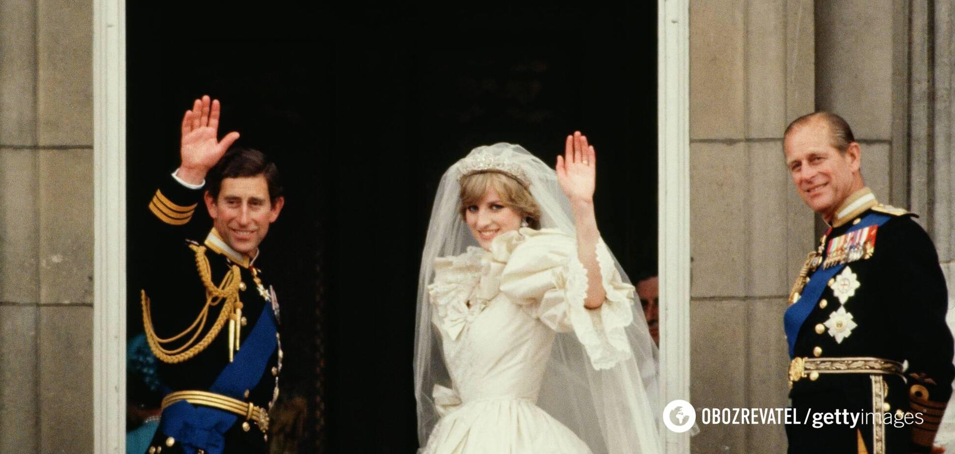 Весілля принца Чарльза і принцеси Діани відбулося 29 липня 1981 року