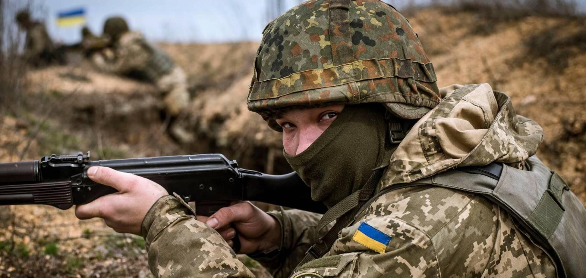 Украинские бойцы уничтожили на Донбассе ВОП с террористами