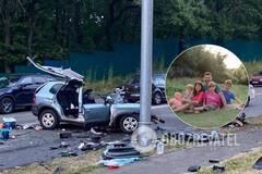 У ДТП в Києві загинула майже вся сім'я