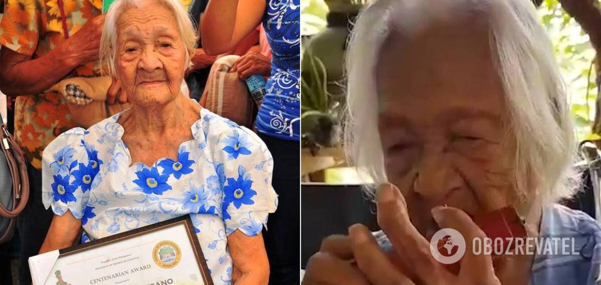 Франциска Сусано считает, что своим долголетием обязана свежим овощам и губной гармошке