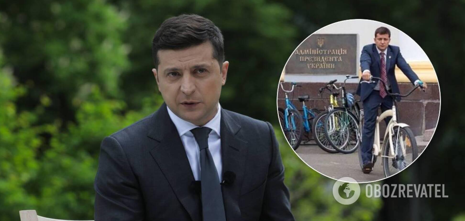 Зеленський віддалився від народу й забув про обіцянки? Чому президент досі не на велосипеді і які ризики для України