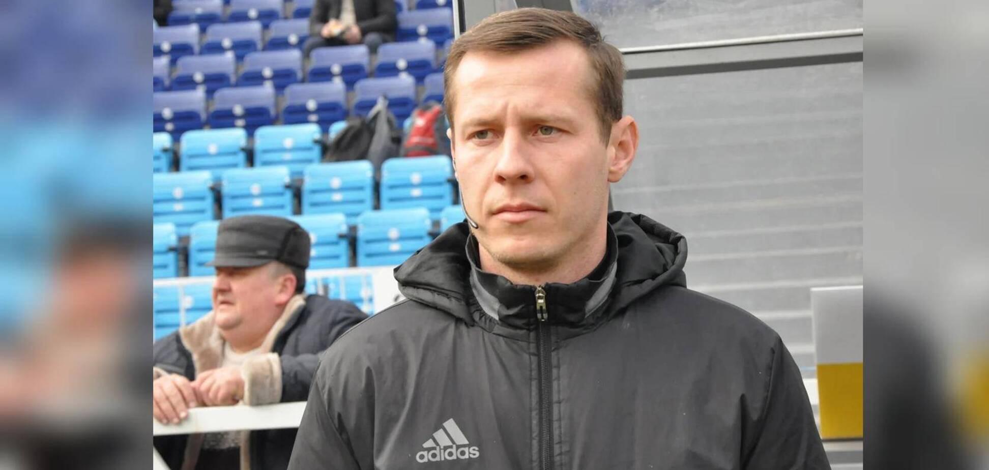 Журналіст показав, як виглядає арбітр після побиття в матчі Першої ліги