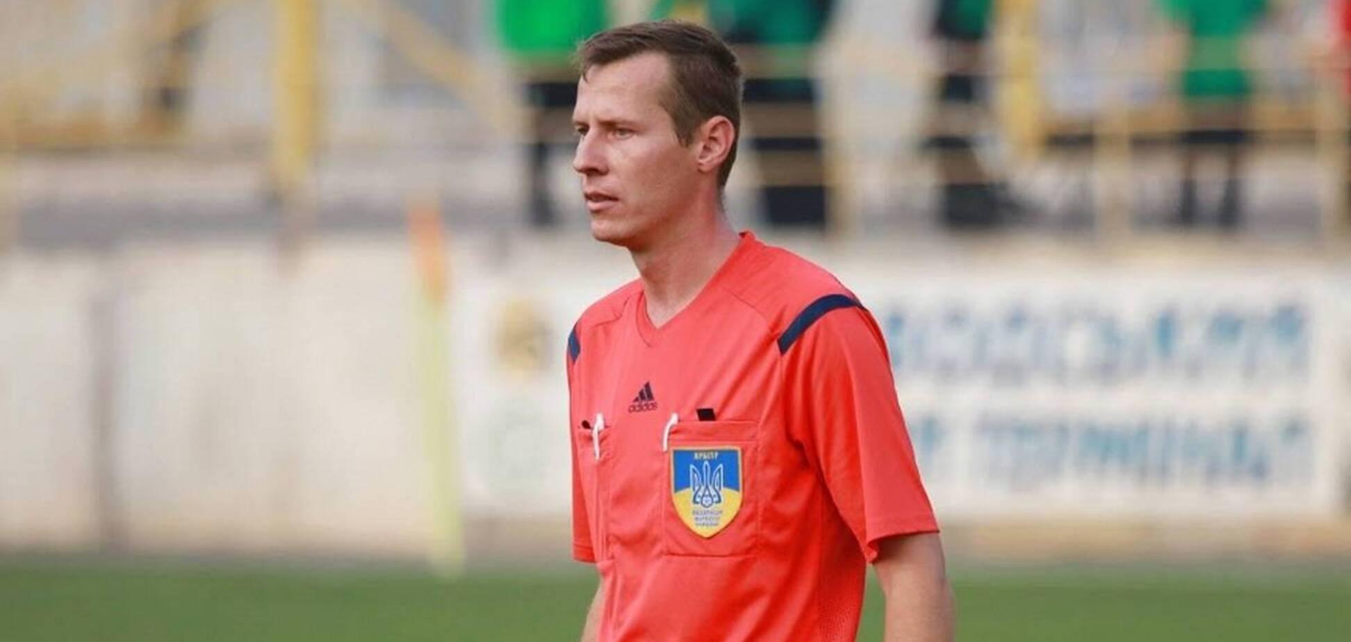 Арбітра Юрія Іванова побили після матчу Першої ліги України