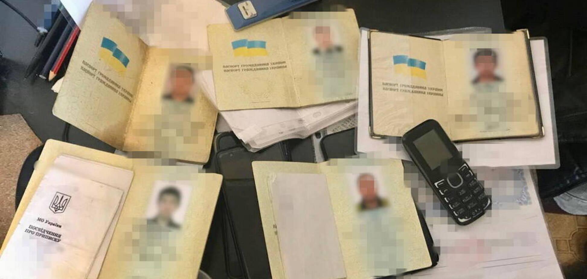 У Харкові злочинці продавали фальшиві документи