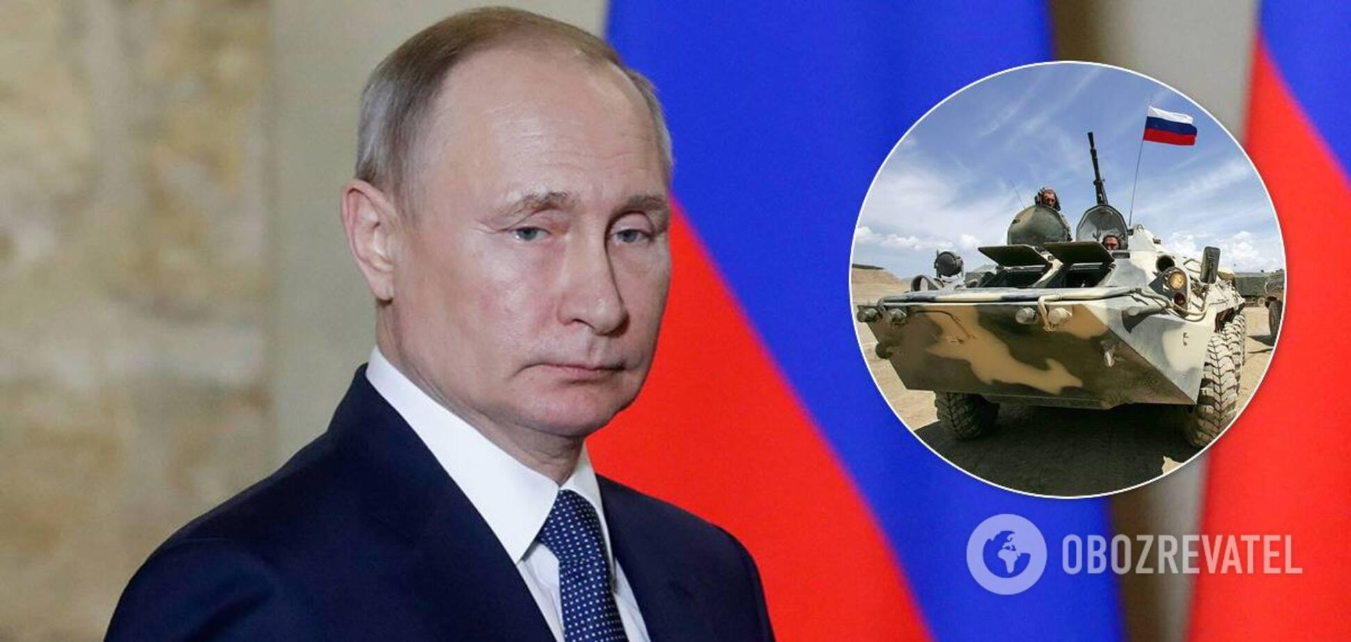 Путин начал внезапную проверку войск РФ: в Украине заявили об 'угрозе силой'