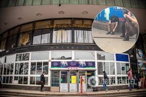 На станции метро 'Шулявка' прохожий пострадал от взрыва