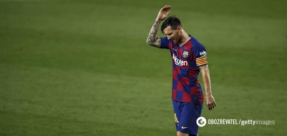 Лионель Месси назвал 'Барселону' слабой командой