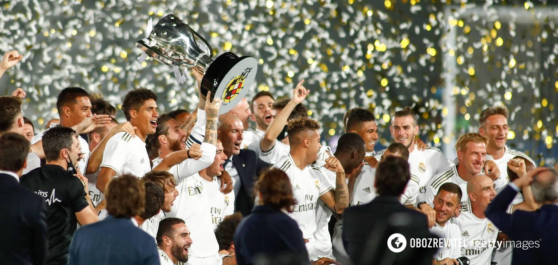 'Реал' завоював титул чемпіона Іспанії 2019/20