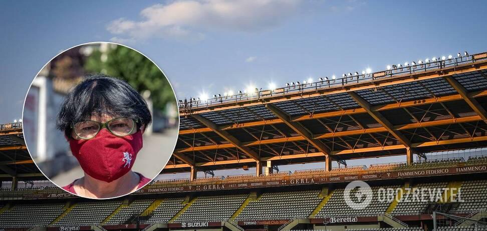 Стадион в Италии