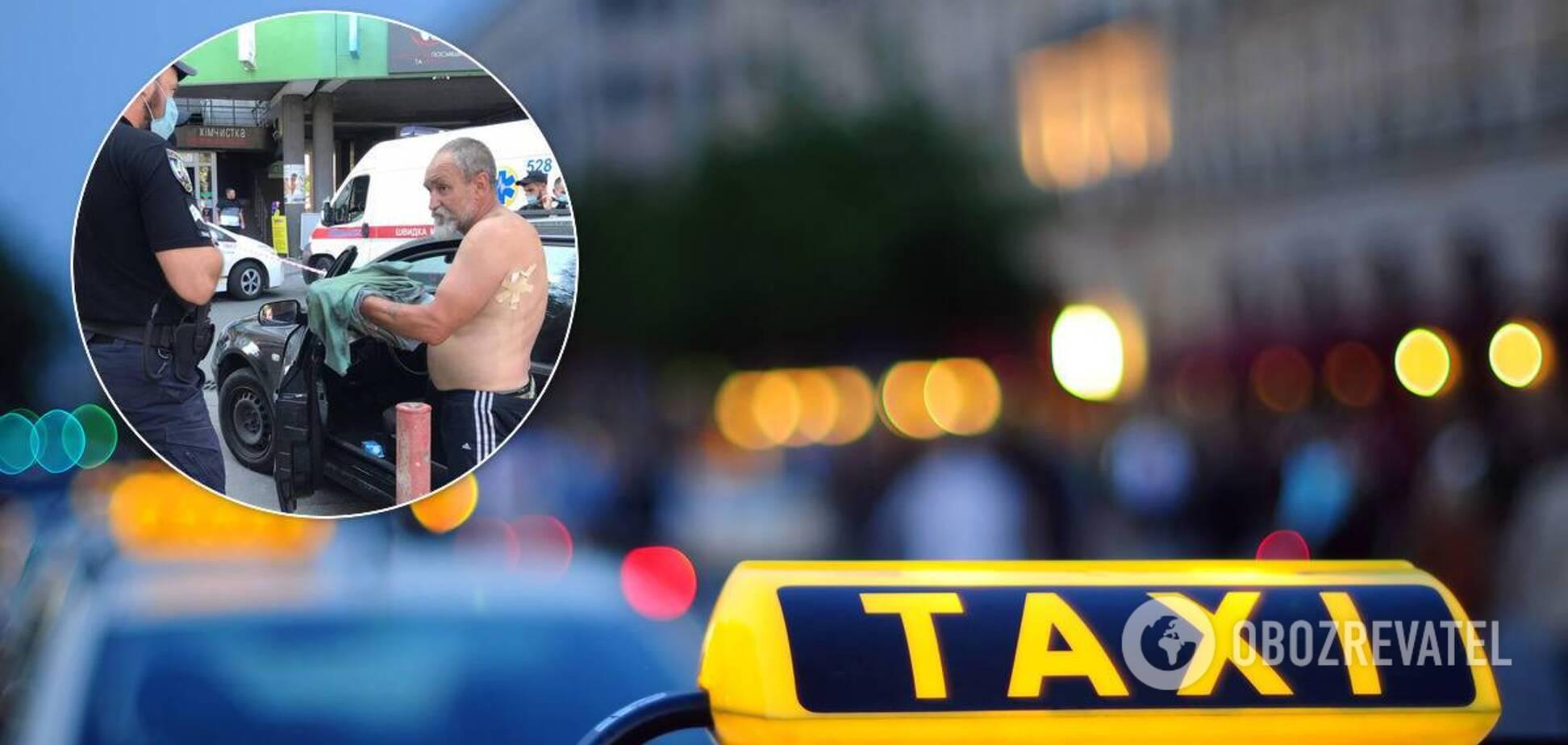У Києві вистрілили в водія таксі