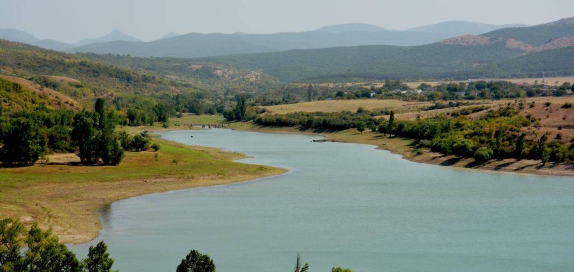 В оккупированном Крыму почти засохло Белогорское водохранилище