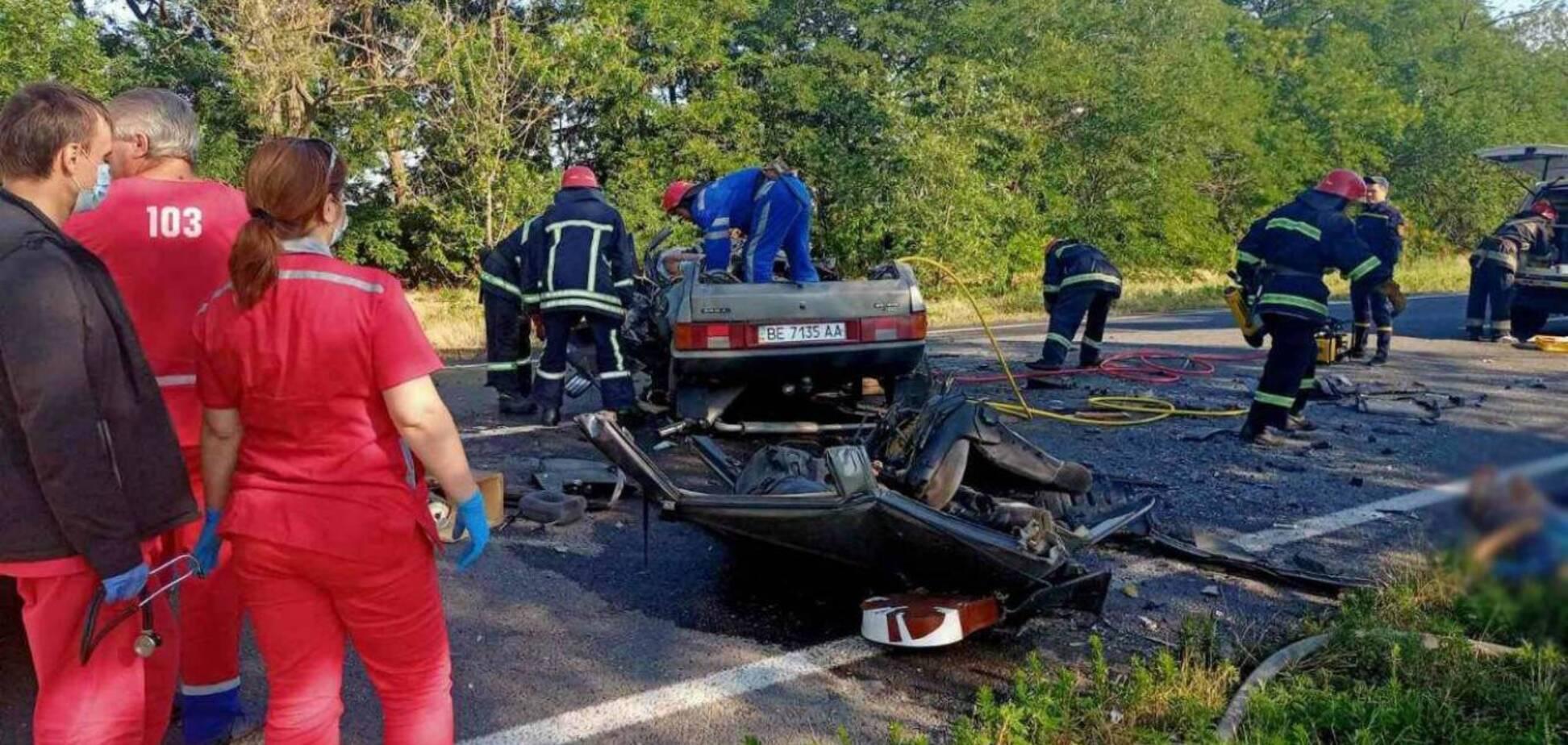 ДТП із шістьма загиблими в Одеській області