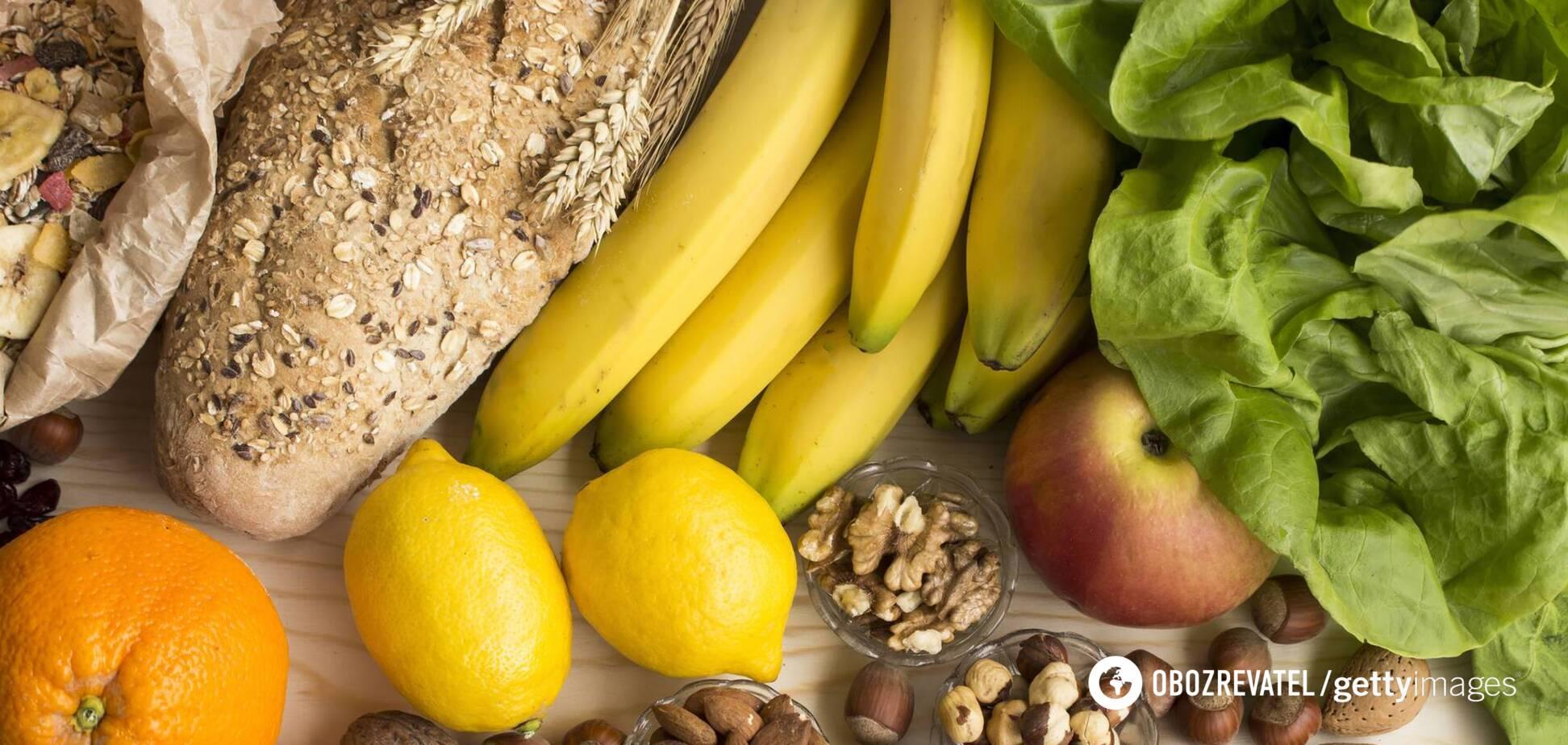 Продукты, которые содержат клетчатку, улучшают процесс пищеварения