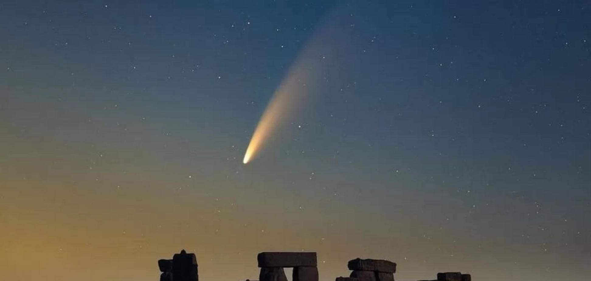Комета NEOWISE не представляет угрозы Земле