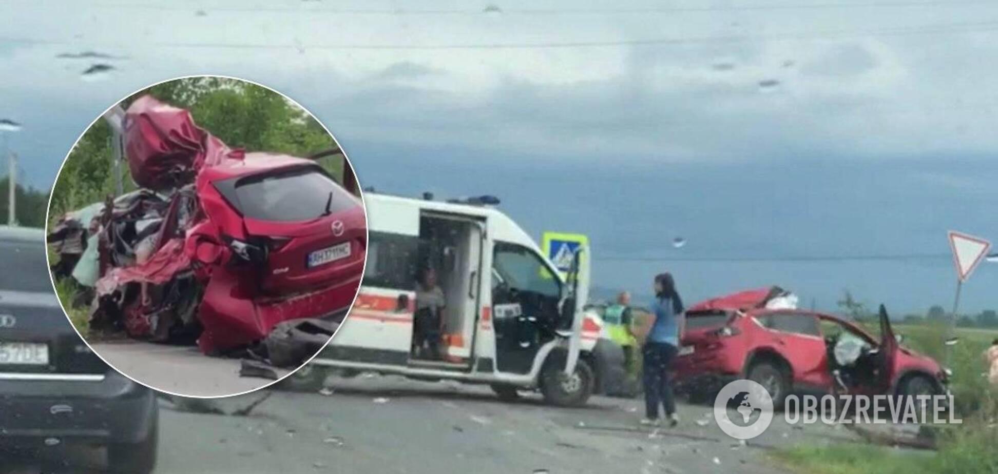 В аварії під Мукачевом загинув футбольний тренер, хлопець і дівчинка: деталі трагедії
