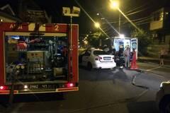 В центре Днепра столкнулись два авто: спасатели вырезали пострадавшего