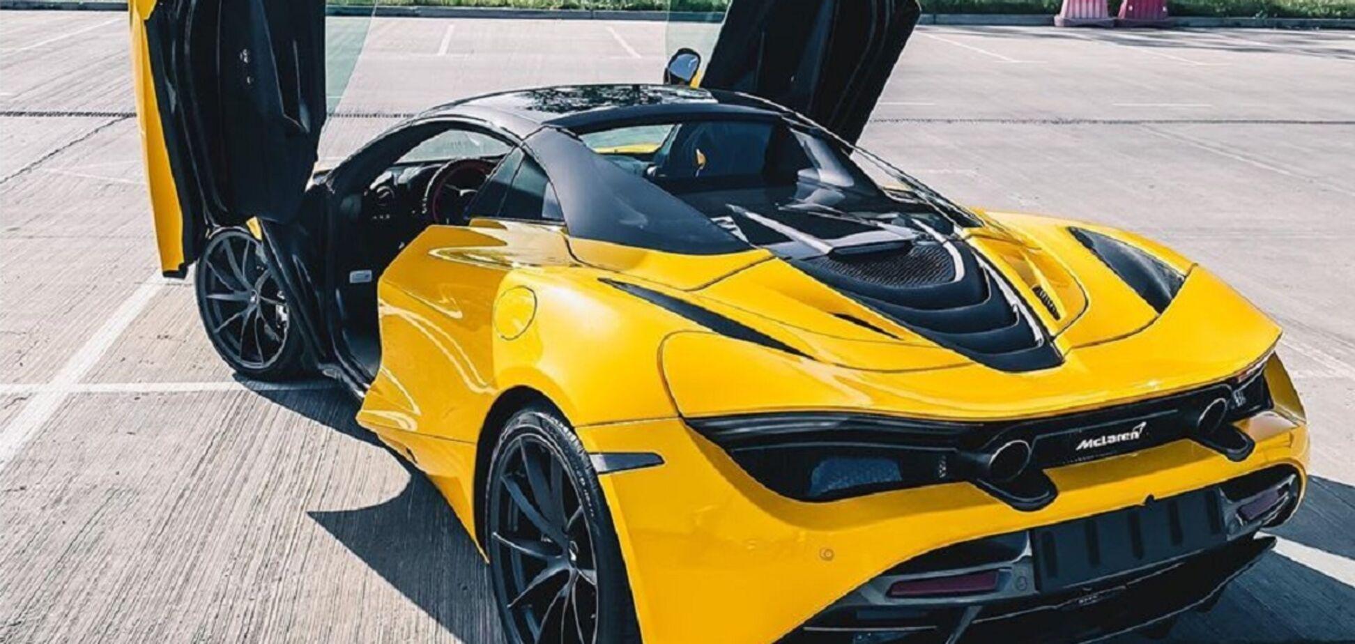 Уникальный McLaren 720S Spider нашли в Украине. Фото: topgir.com.ua