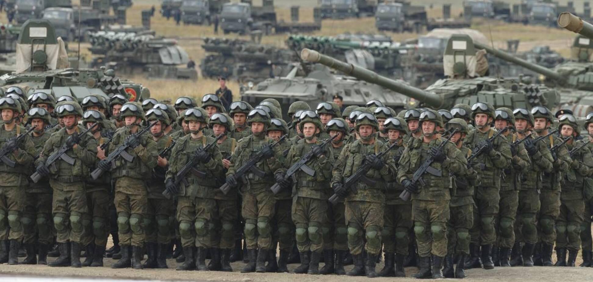 Россия создала три группы войск на границе с Украиной