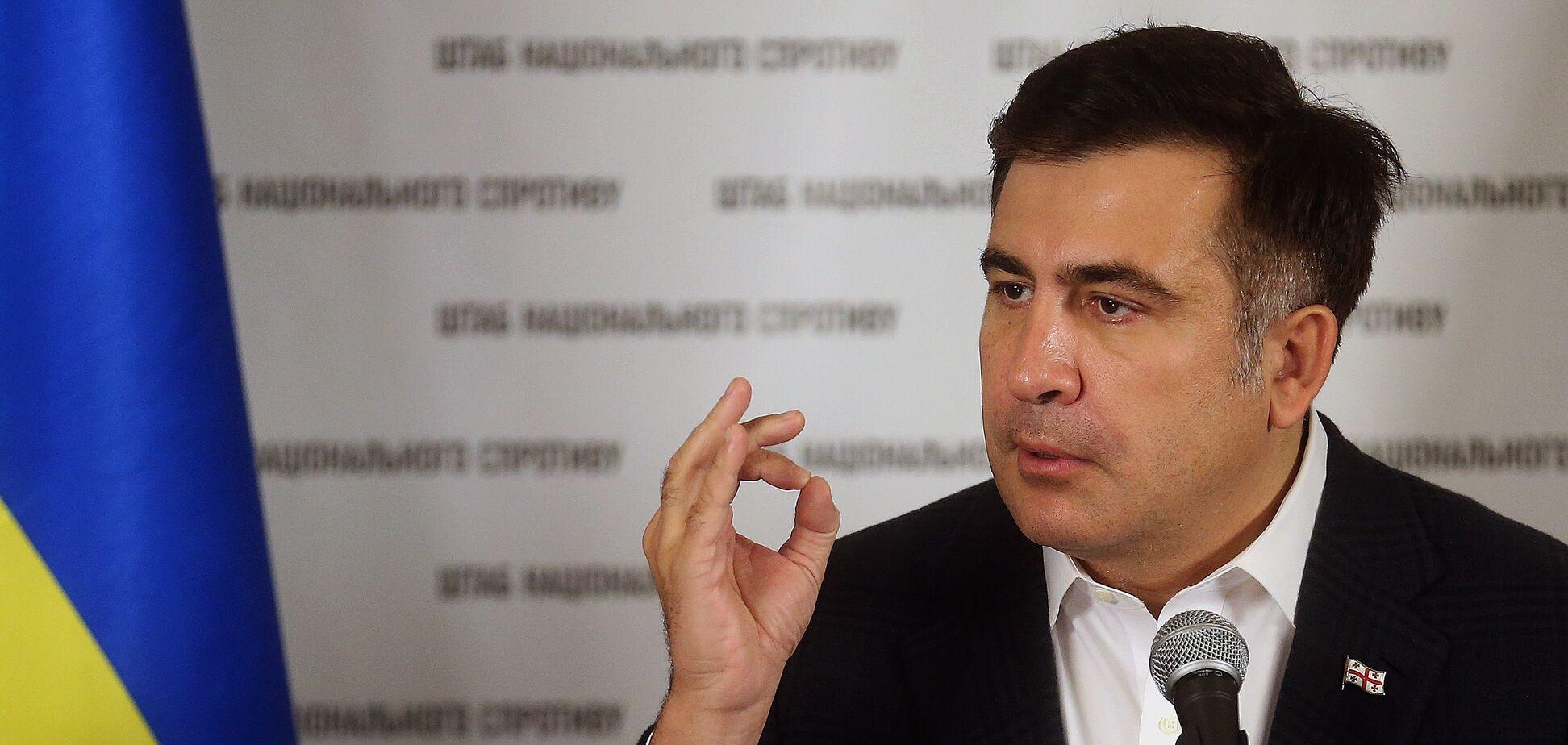 Саакашвили анонсировал перемены в Украине и пообещал, что 'полетят головы'