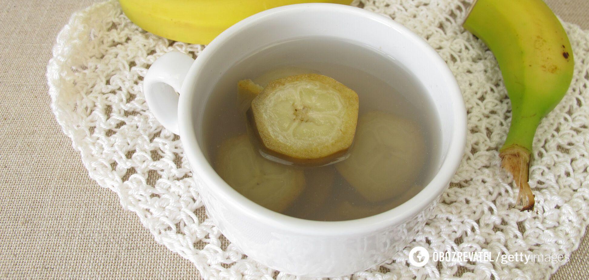 Банановий чай знижує ризик серцево-судинних захворювань