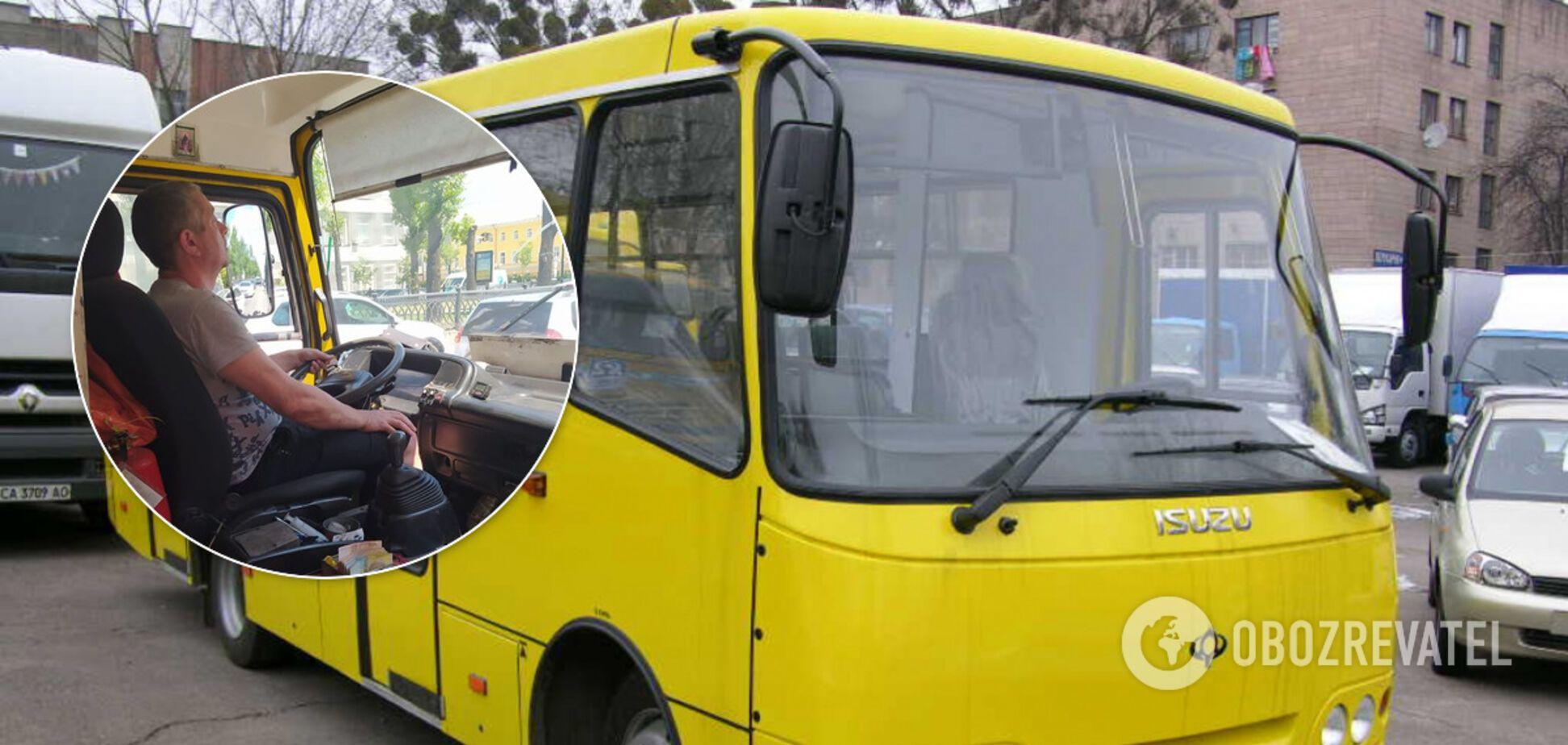 В Киеве маршрутчика обвинили в нарушении карантина