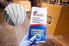 Пленных украинцев заставили голосовать за поправки в Конституцию РФ