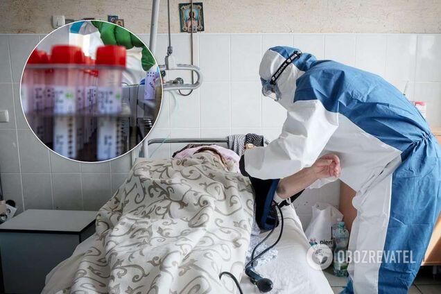 Больницы Западной Украины переполнены зараженными COVID-19. Количество инфицированных удвоилось, врачи бьют тревогу