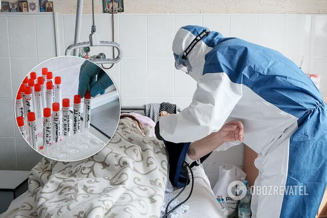 Лікарні Західної України переповнені зараженими COVID-19