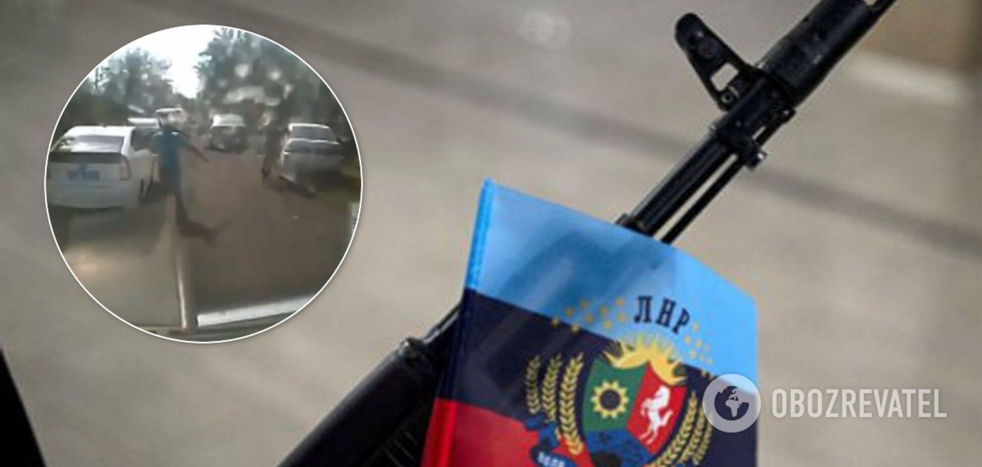 Спливло відео підриву гранатою двох 'міліціонерів ЛНР'. 18+