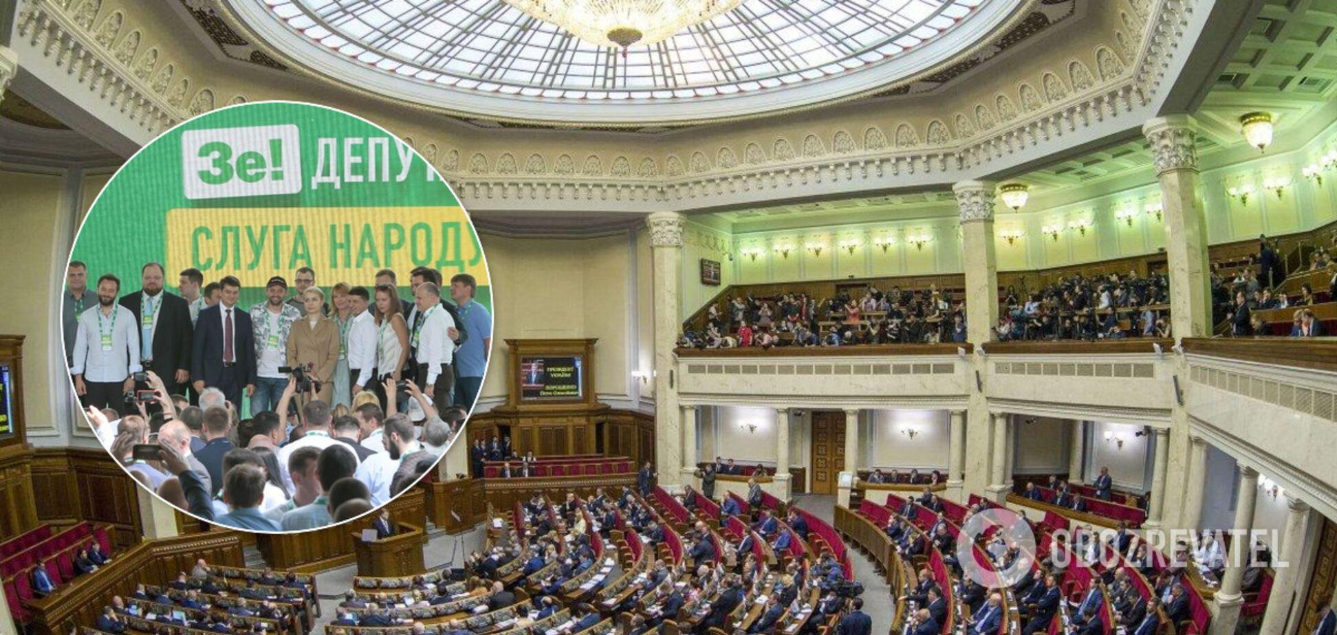 'Слугу народа' готовы поддержать почти 30% украинцев