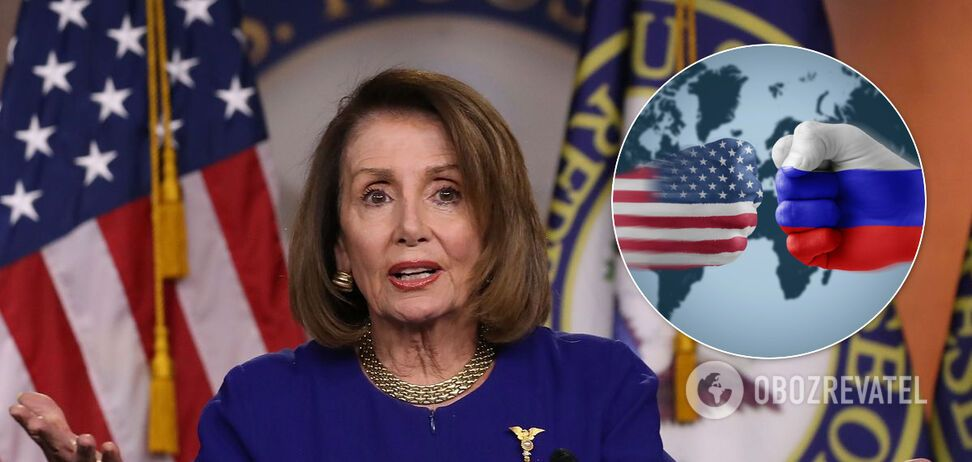 Спікерка Палати представників Конгресу США Ненсі Пелосі