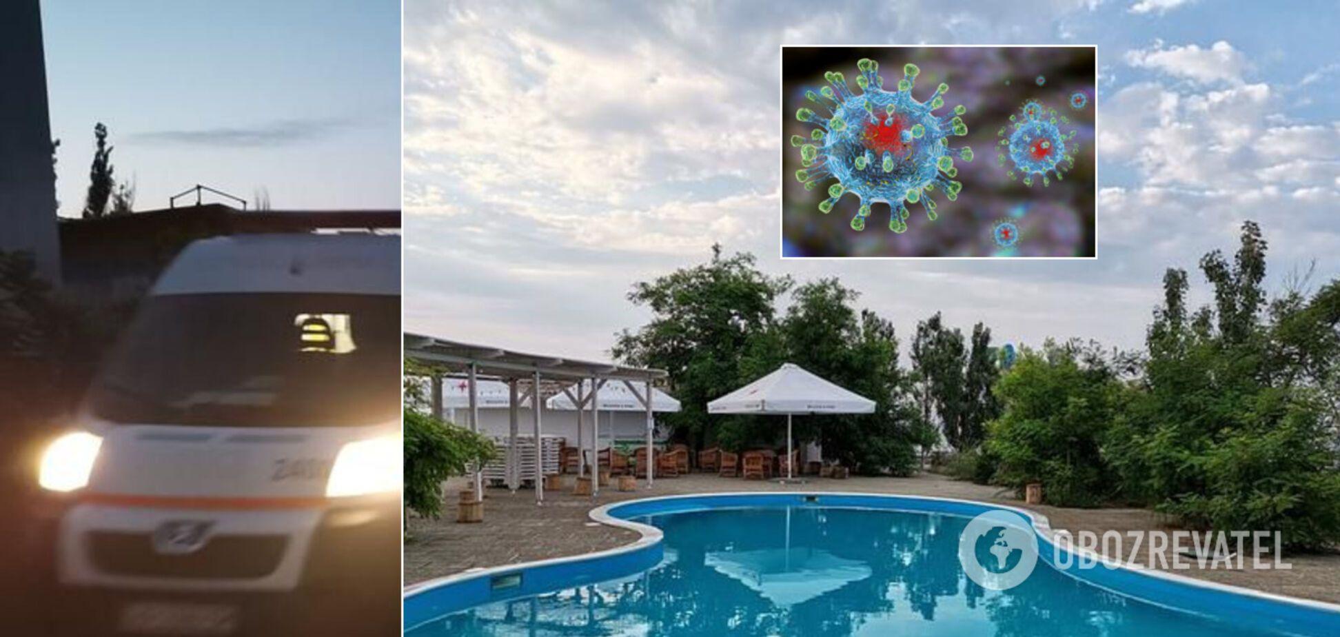 На базі відпочинку в Кирилівці масово отруїлися діти з Дніпра: підозрюють коронавірус