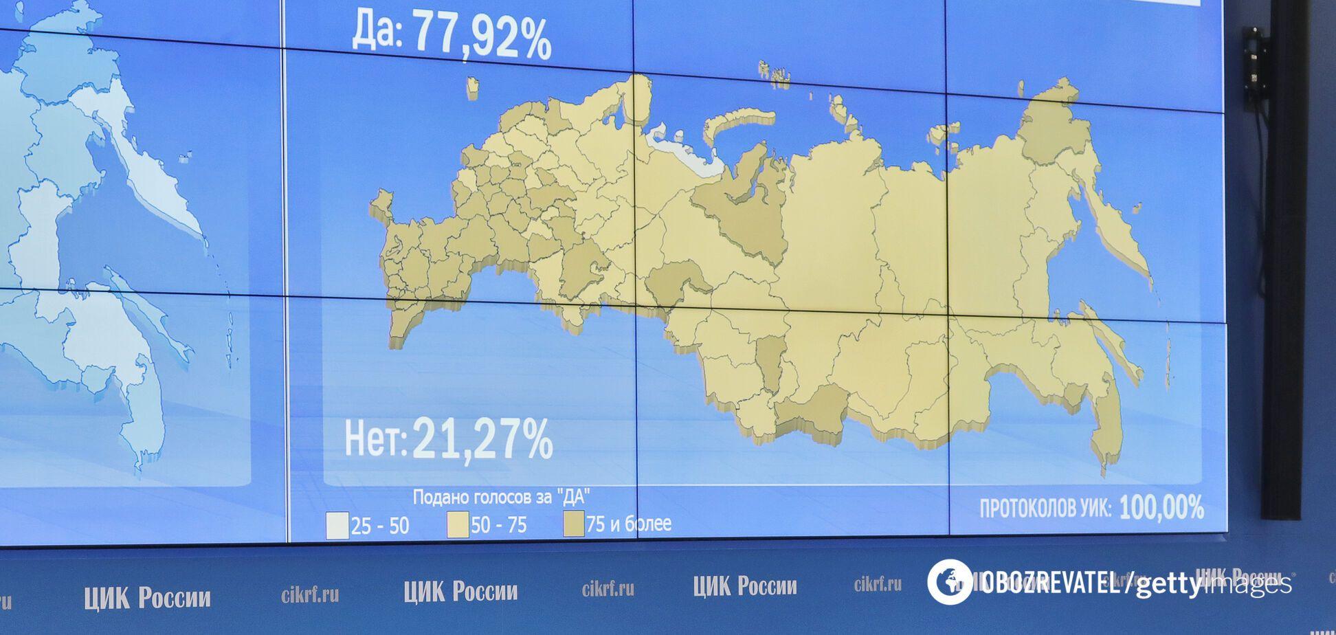США узнали о манипуляциях результатами голосования по поправкам к Конституции РФ