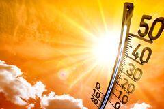 На Херсонщине прогнозируют жару до +42