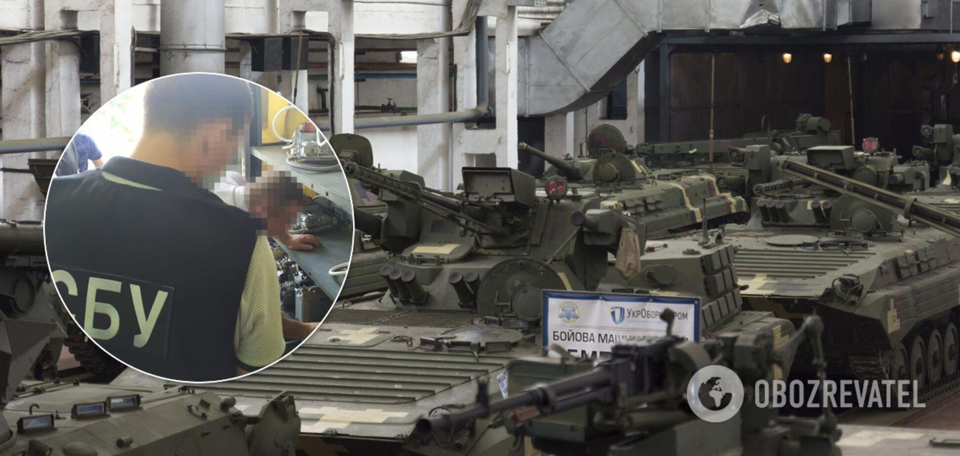 СБУ провела обшуки на Житомирському бронетанковому заводі