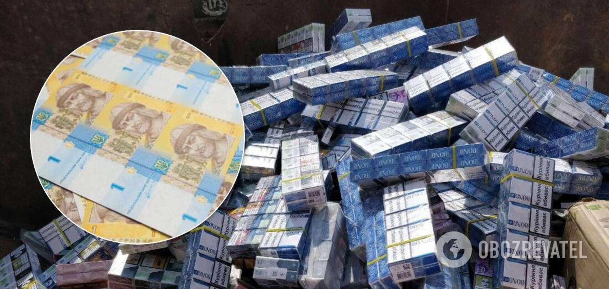 На Закарпатье фирма за 1 гривню уничтожит 88 тысяч пачек контрабандных сигарет