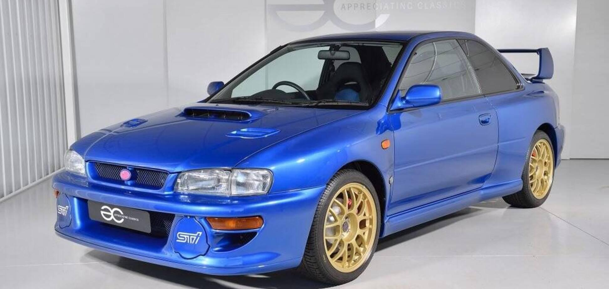 Знаменитую Subaru Impreza 22B STi продают в отличном состоянии. Фото: appreciating-classics.com