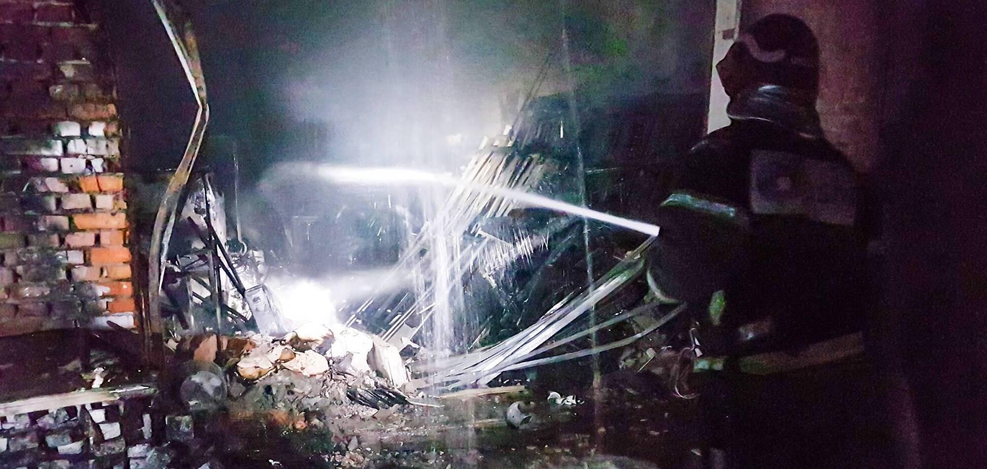 Пожежа в Солом'янському районі Києва