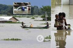Наводнения в Индии вызваны разливом реки Брахмапутра