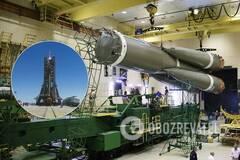 'Роскосмос' сообщил о замечаниях при установке ракеты 'Союз' на Байконуре