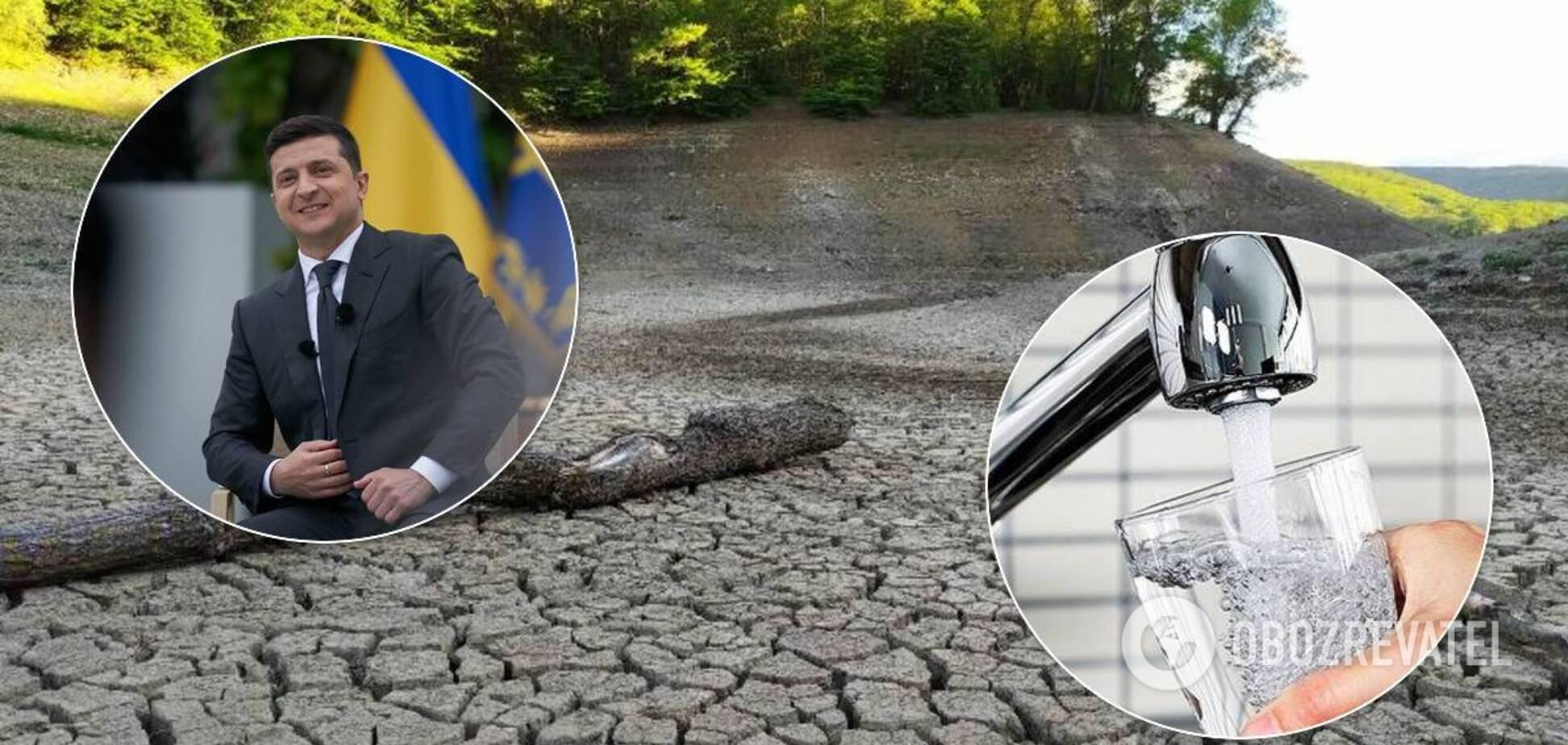 Зеленський проти відновлення подачі води в окупований Крим