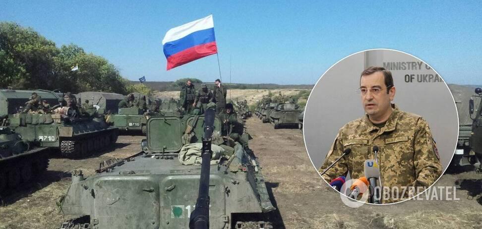 На Донбасі зосереджено тисячі військових і техніки РФ