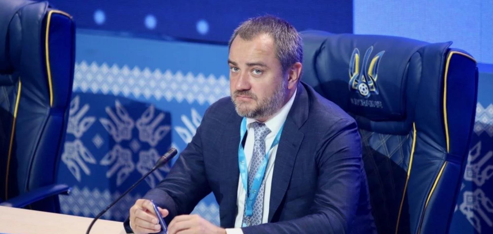 Андрій Павелко прокоментував побиття судді Іванова після матчу Першої ліги