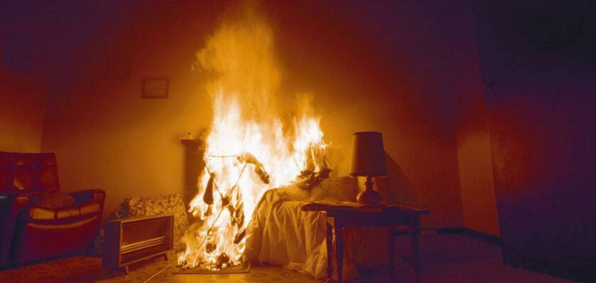 У Кривому Розі трапилася пожежа в дев'ятиповерхівці: є постраждалий