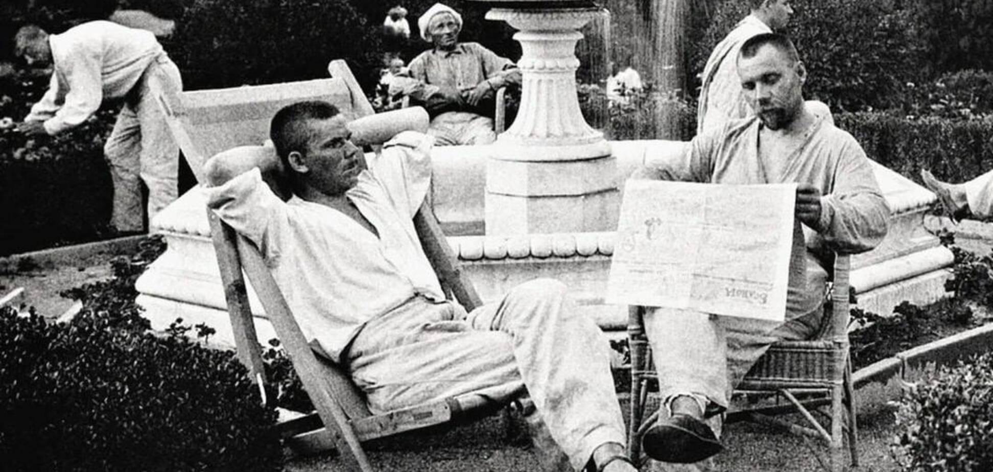 Як відпочивали в СРСР представники інтелігенції: опубліковані фото