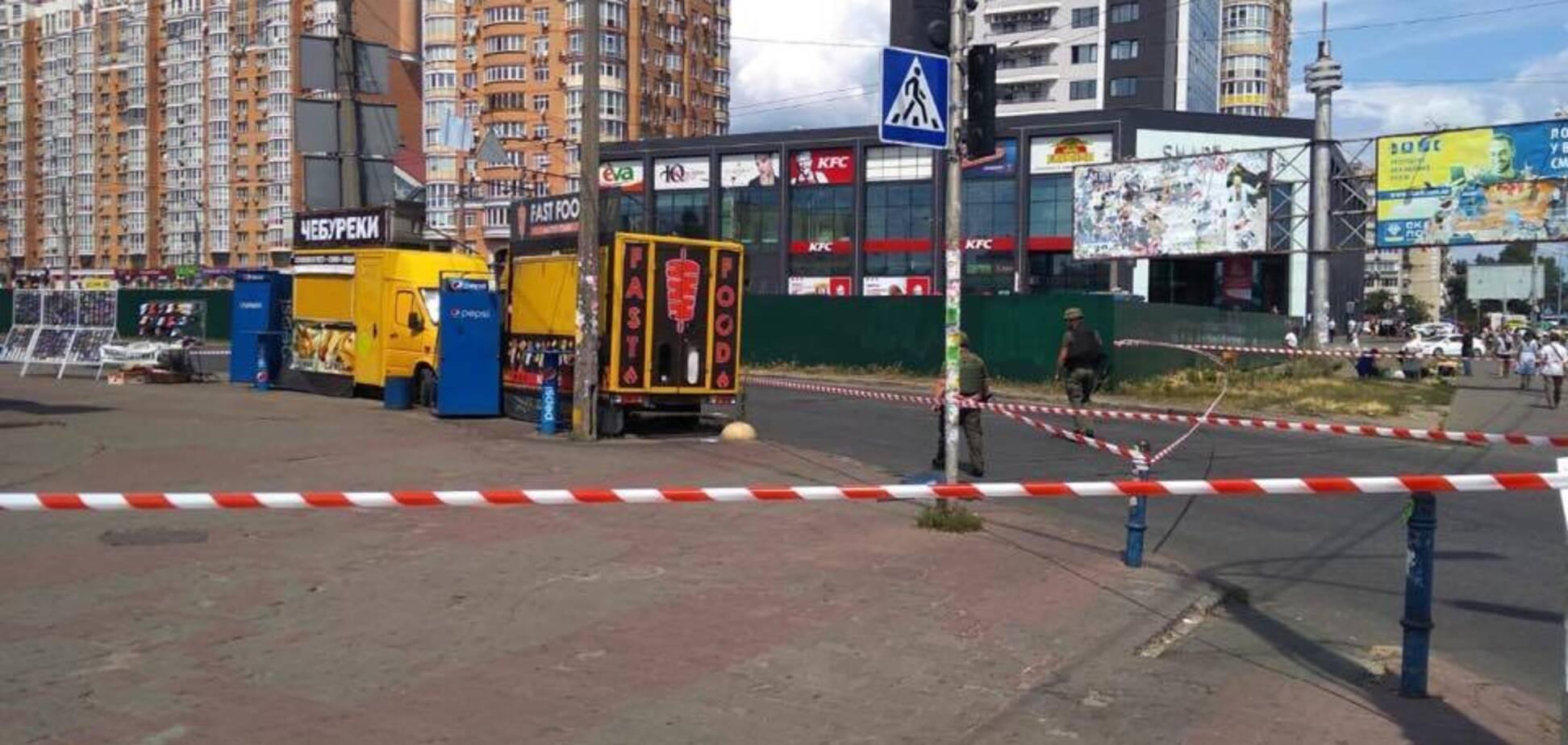 У Києві трапився вибух біля станції метро 'Мінська'