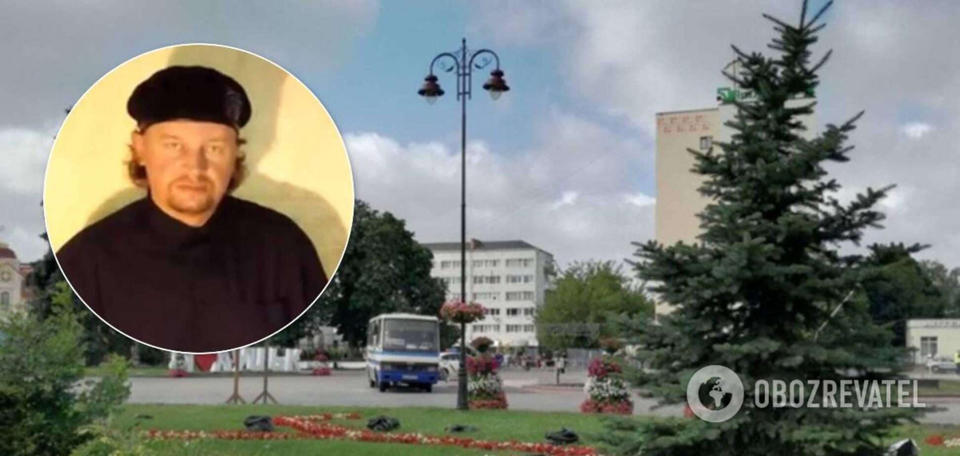 Захоплення автобуса в Луцьку
