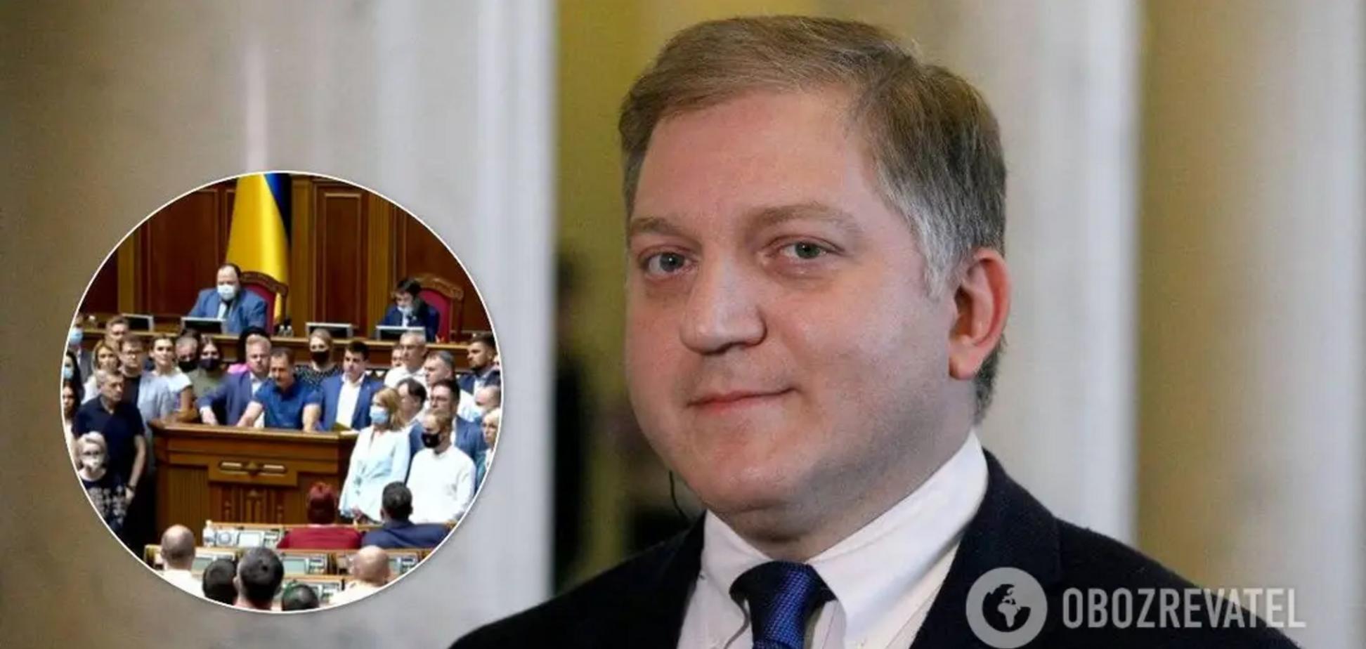 На Олега Волошина подали заяву в СБУ